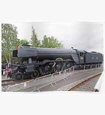 Flying Scotsman (train) A3 4472 Poster