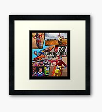 Supercross Framed Print