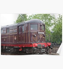 Metropolitan Railway Electric Locomotive No.12 'Sarah Siddons' Poster