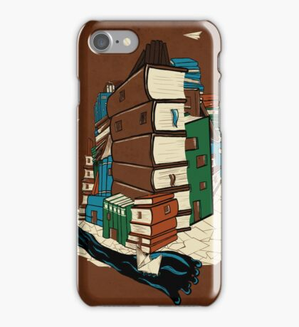 Book City iPhone Case/Skin