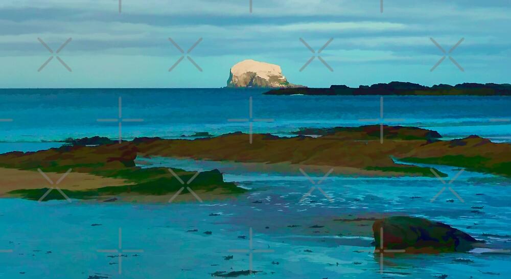 The Bass Rock by Ian Jeffrey