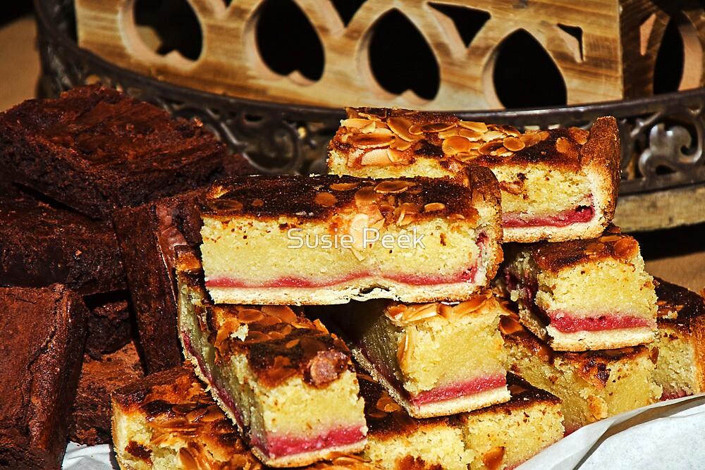 Raspberry-Almond Slices by Susie Peek