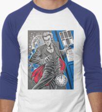"""The Twelfth Doctor (""""All Thirteen!"""") Men's Baseball ¾ T-Shirt"""