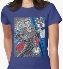 "The Twelfth Doctor (""All Thirteen!"") Women's Fitted T-Shirt"