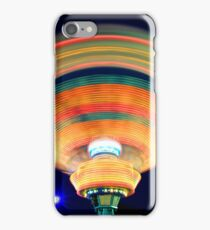Colorful abstract streaks of lights1 iPhone Case/Skin