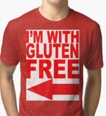 I'm With Gluten Free T-Shirt Tri-blend T-Shirt