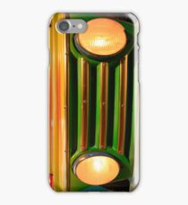 Luna park car bumper lights (H) iPhone Case/Skin