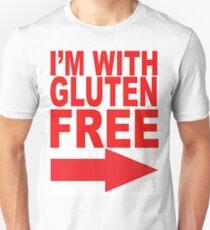 I'm With Gluten Free T-Shirt (right arrow) T-Shirt