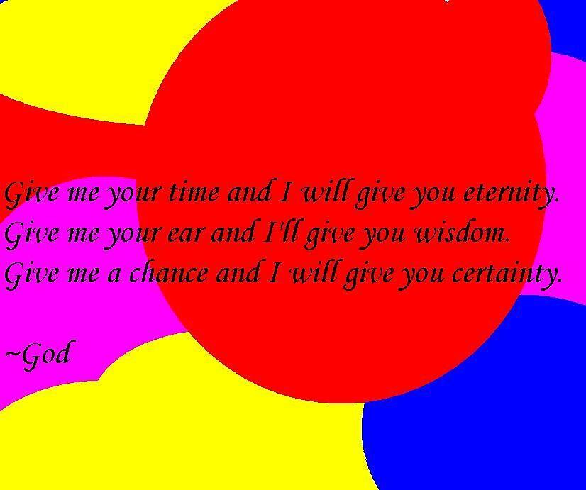 A letter from God by Jacob Ellinger