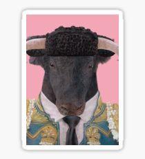 Spanish Bull Sticker