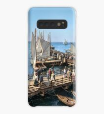 Pier at the inlet, Atlantic City, N.J. year 1904 Case/Skin for Samsung Galaxy