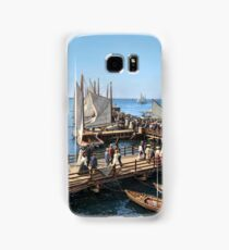 Pier at the inlet, Atlantic City, N.J. year 1904 Samsung Galaxy Case/Skin