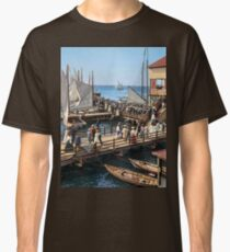 Pier at the inlet, Atlantic City, N.J. year 1904 Classic T-Shirt