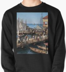 Pier at the inlet, Atlantic City, N.J. year 1904 Pullover