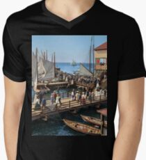 Pier at the inlet, Atlantic City, N.J. year 1904 T-Shirt
