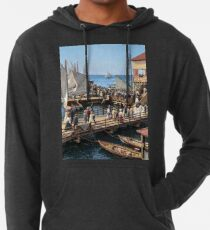 Pier at the inlet, Atlantic City, N.J. year 1904 Lightweight Hoodie