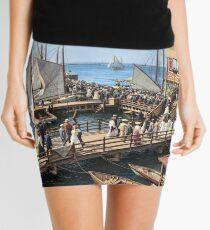 Pier at the inlet, Atlantic City, N.J. year 1904 Mini Skirt