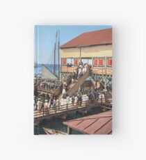 Pier at the inlet, Atlantic City, N.J. year 1904 Hardcover Journal