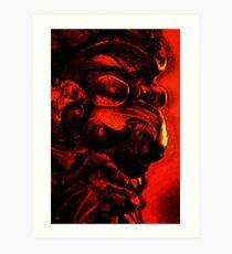 Demon Mask Art Print
