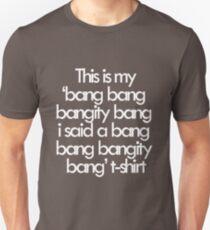 Camiseta ajustada Si sabes a lo que me refiero