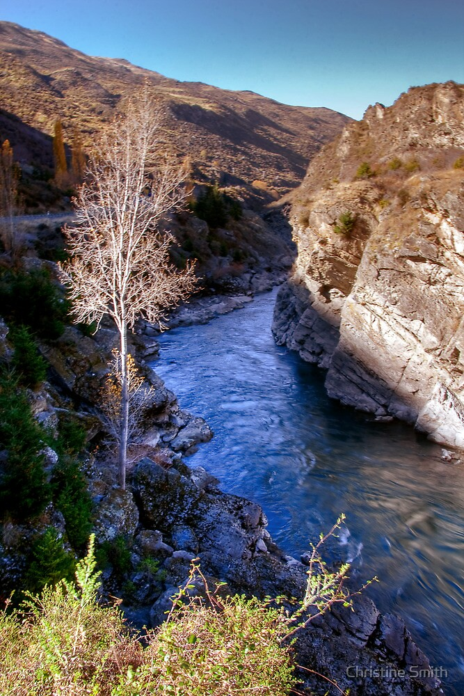 Kawarau Gorge (4) by Christine Smith
