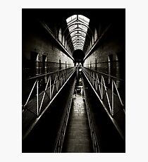 Melbourne Gaol Photographic Print
