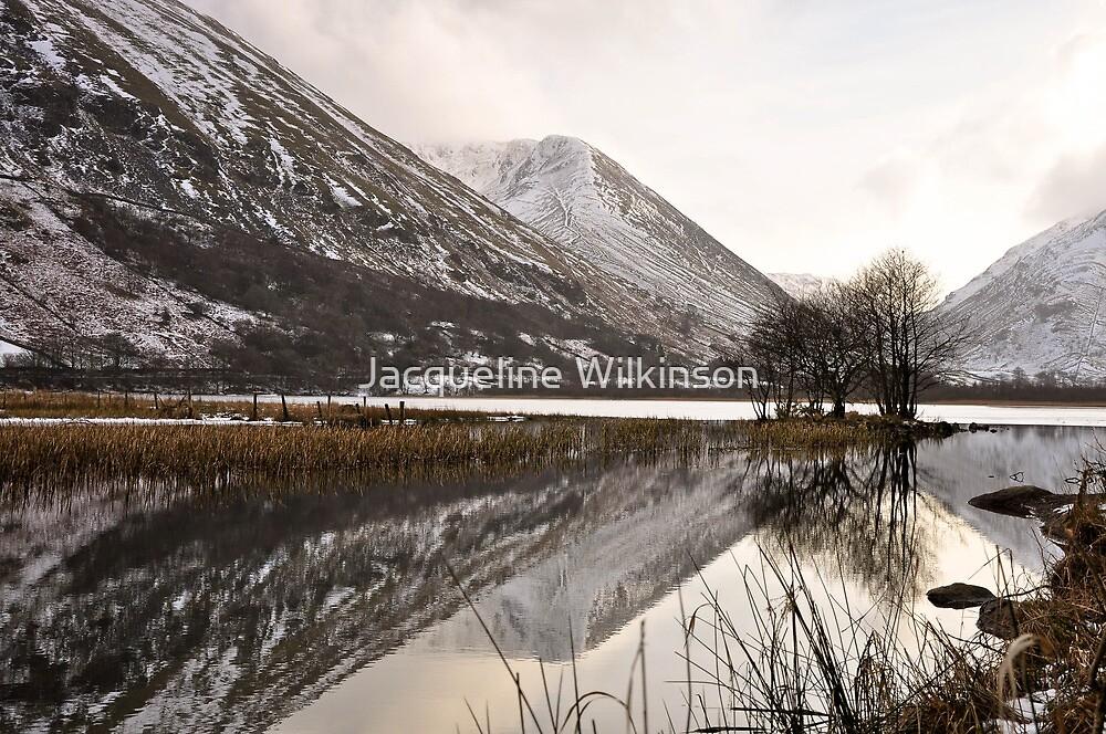 Winter in lakeland by Jacqueline Wilkinson