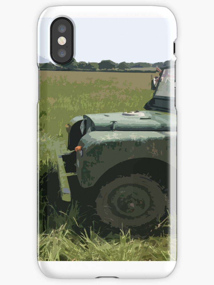 Landrover iPhone Case by samsphotos12