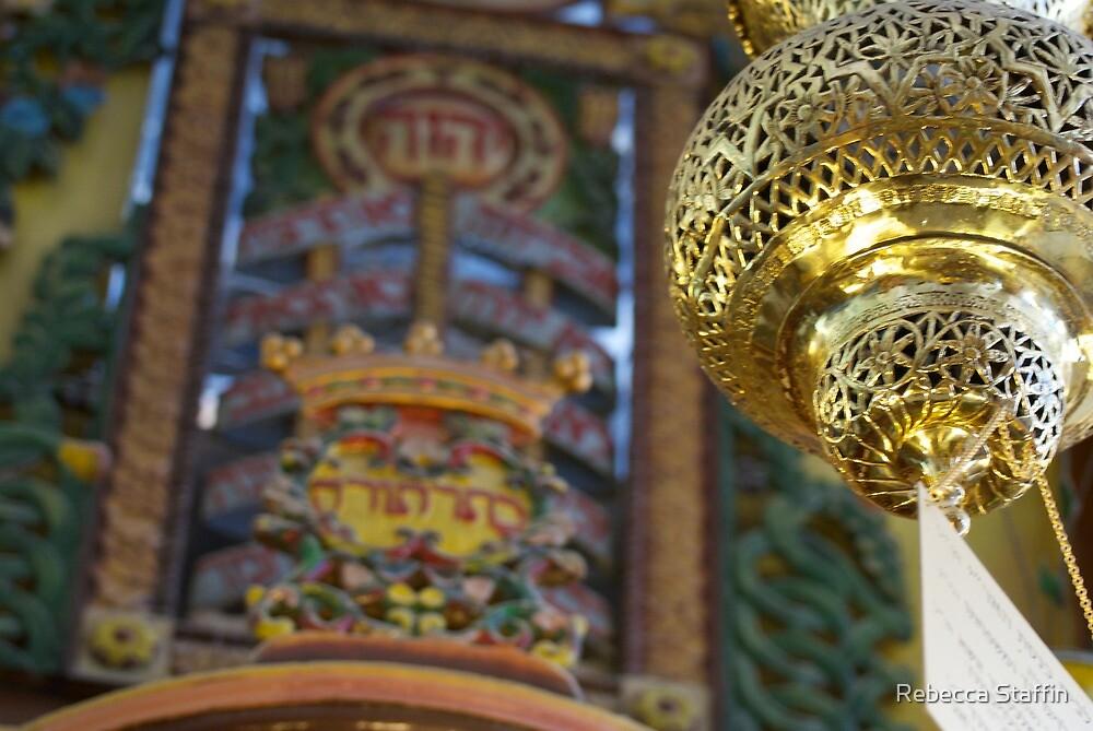 Jerusalem Temple by Rebecca Staffin