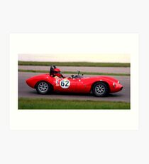 Mosport 2012.. No.3 in the series....... Art Print