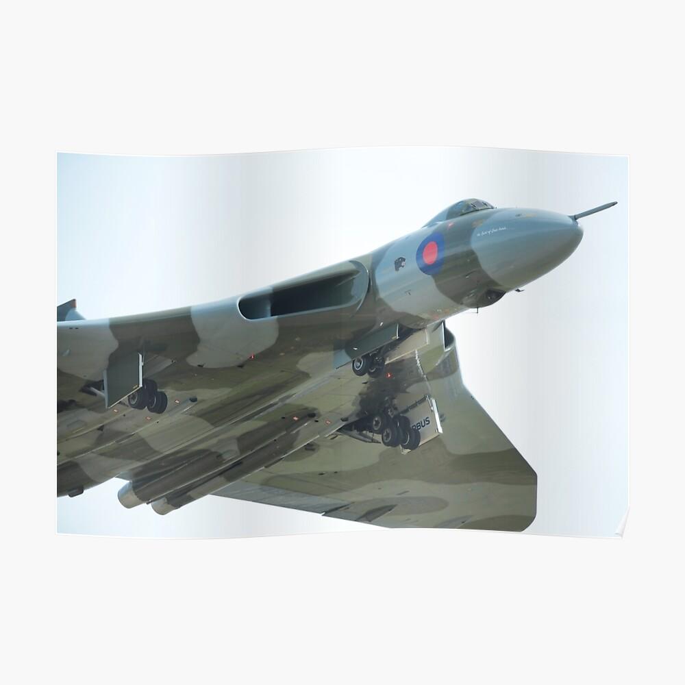 AVRO Vulcan starten Poster