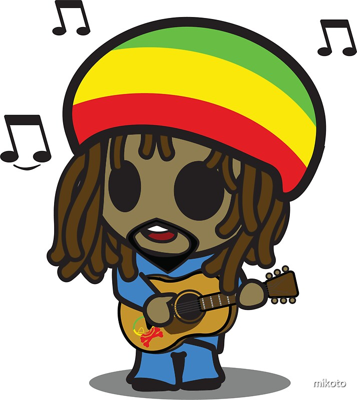 Quot Reggae Man Quot Stickers By Mikoto Redbubble