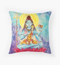 Destruction, Shiva Throw Pillow