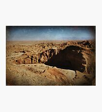 It's a Big Desert Out There Photographic Print