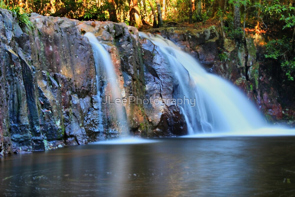 Waitui Falls NSW Australia  by JLeePhotography