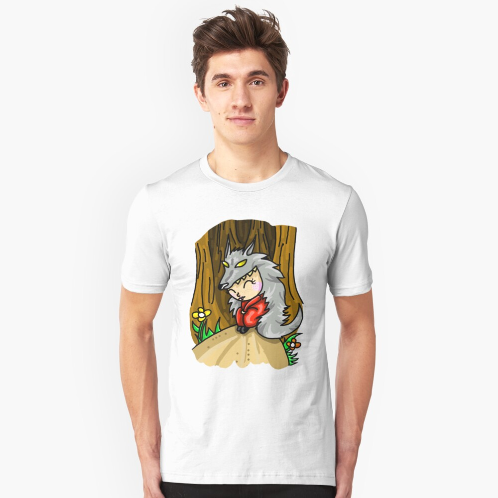 The Sweet Little Wolf Unisex T-Shirt Front
