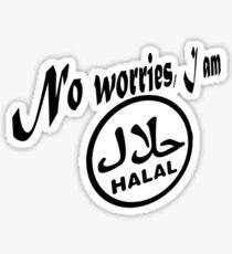I am Halal ...no worries! Sticker