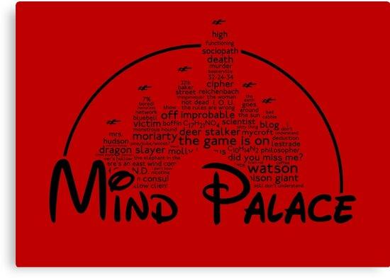 Mind Palace - (black text) by jayveezed