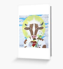 Holy Cow ! ! Greeting Card
