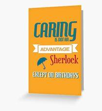 Birthday Caring Greeting Card