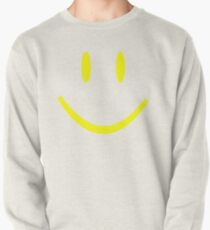 YELLOW SMILEY FACE Pullover