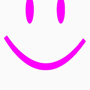 PINK SMILEY FACE by customclothes