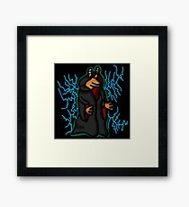 The One True Sith Lord Framed Print
