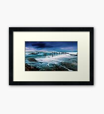 Tempest at the Baths Framed Print