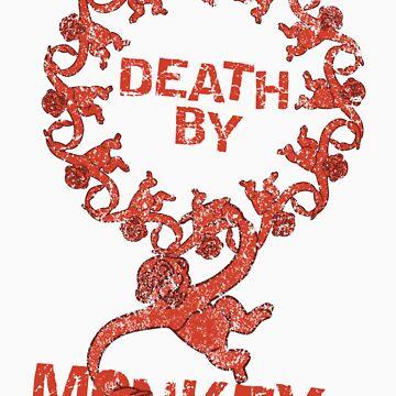 Death by 12 monkeys by Purplecactus