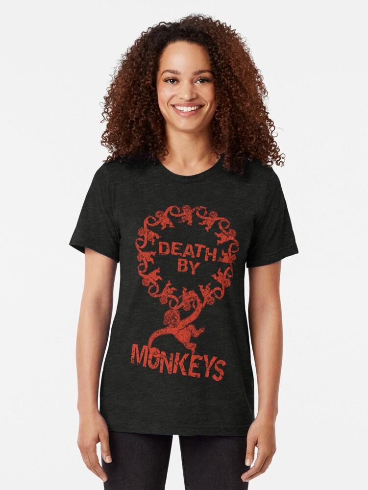 Alternative Ansicht von Death by 12 monkeys Vintage T-Shirt