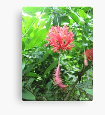 Dangly Flower Canvas Print
