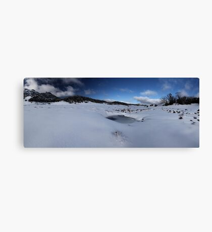 Cresta Valley Panorama Canvas Print