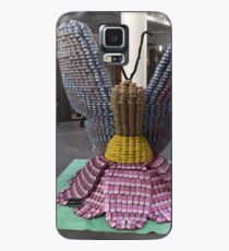 Butterfly Can Sculpture, Canstruction, Sculptures Made of Cans, New York City Case/Skin for Samsung Galaxy