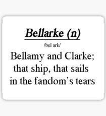 Bellarke Sticker